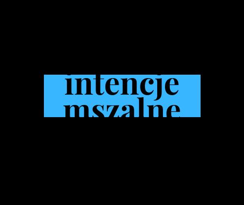 Intencje mszalne 02-08.11.2020